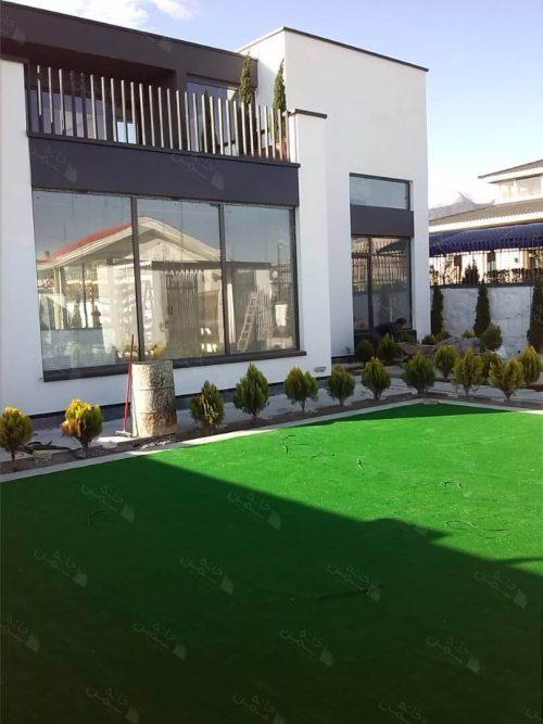 پروژه چمن مصنوعی ویلا در کردان کرج