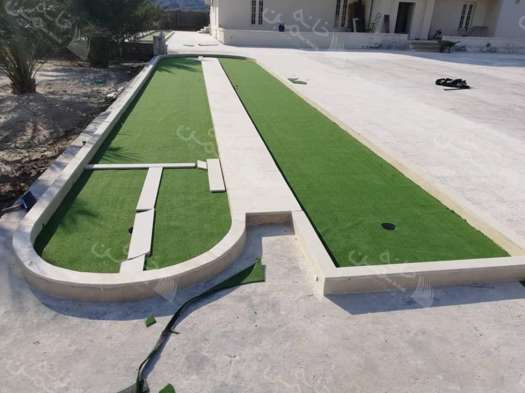 پروژه چمن مصنوعی گلف در بوشهر