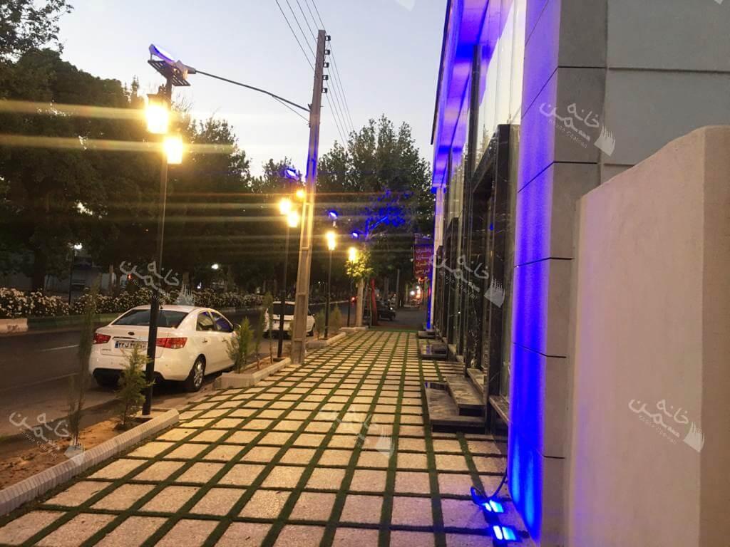 پروژه چمن مصنوعی بین سنگی دامغان