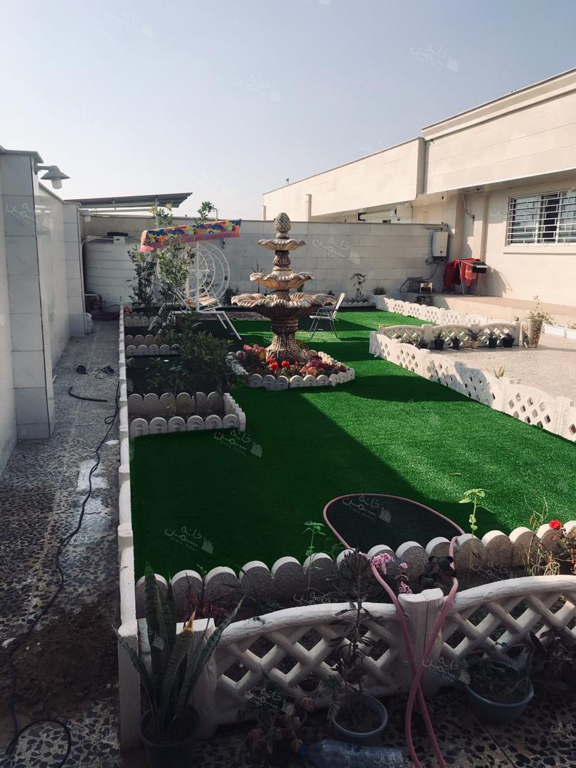 پروژه چمن مصنوعی حیاط در بندرعباس