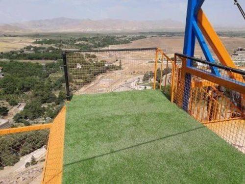 پروژه چمن مصنوعی زمین بازی