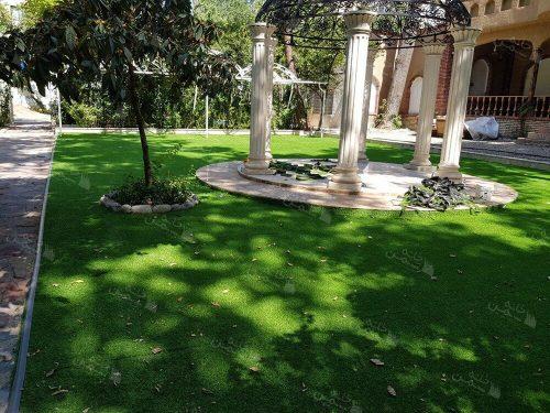 پروژه نصب چمن مصنوعی باغ شهید عراقی