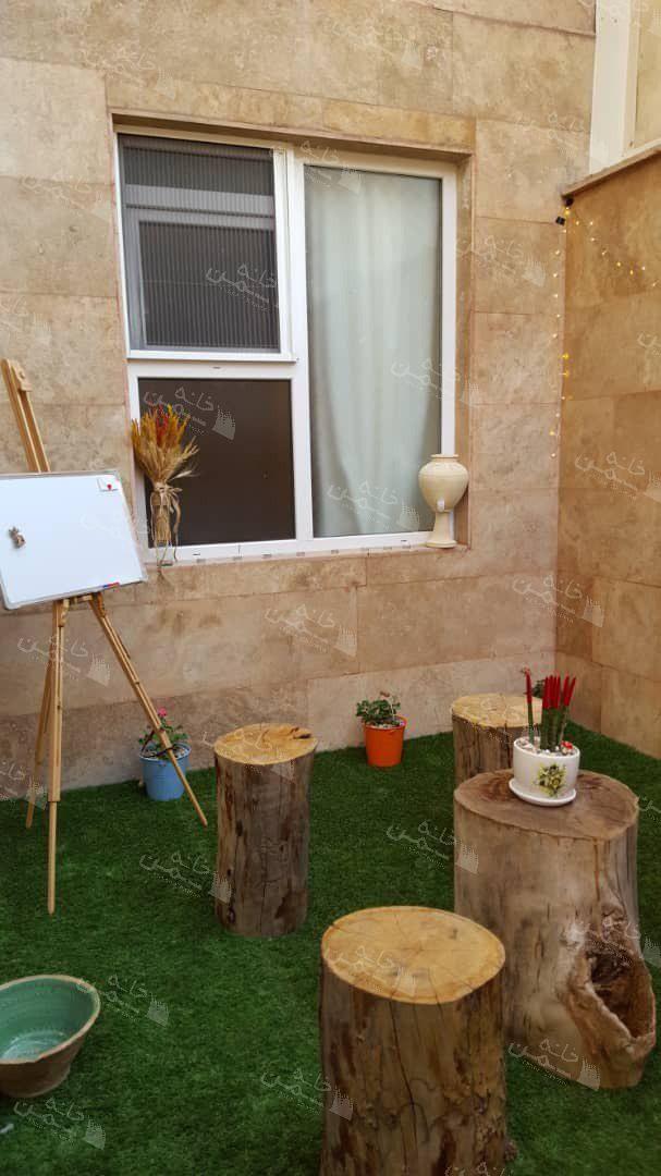 پروژه چمن مصنوعی پاسیو در شهرک نفت تهران