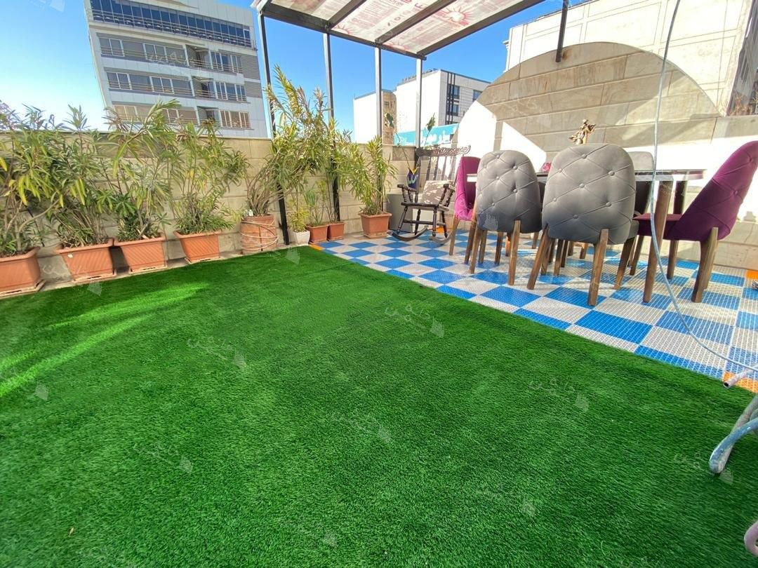 پروژه چمن مصنوعی روف در سعادت آباد