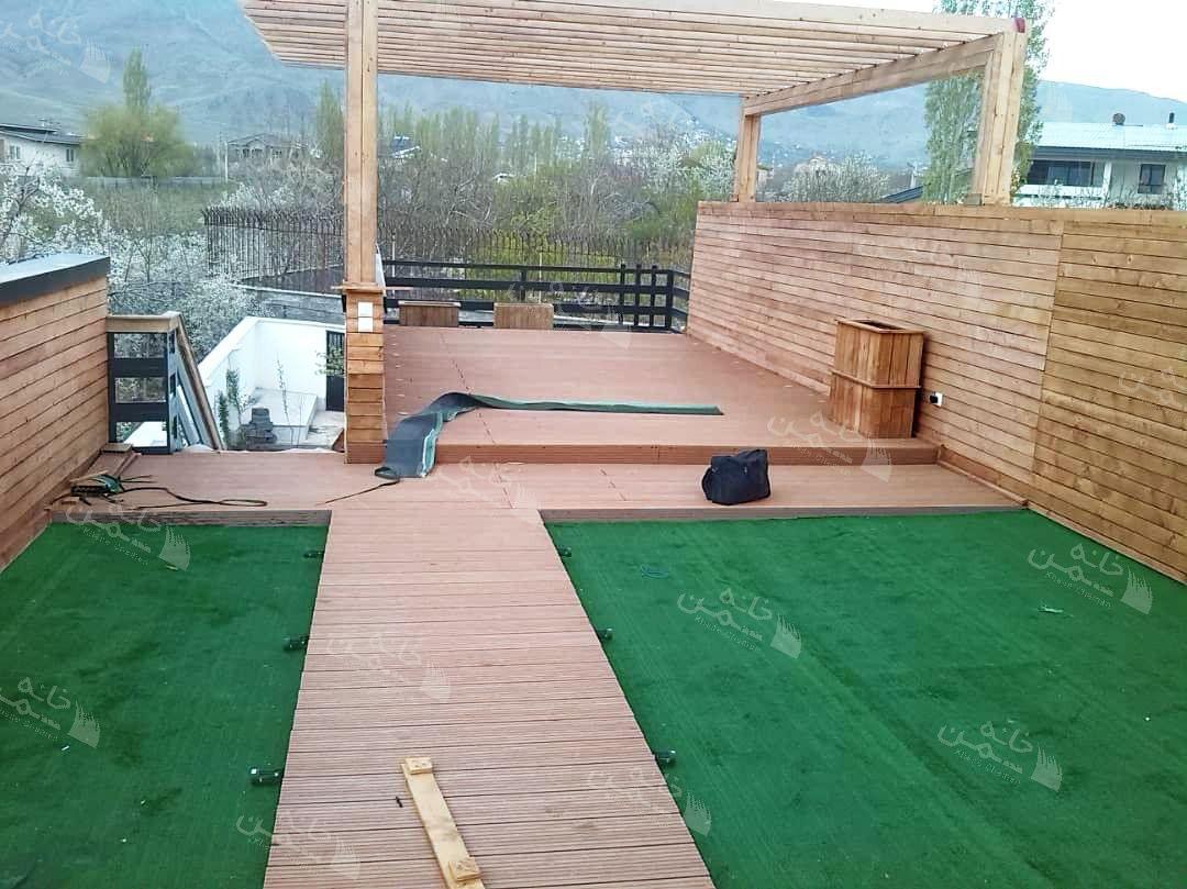 پروژه چمن مصنوعی ویلا در کردان