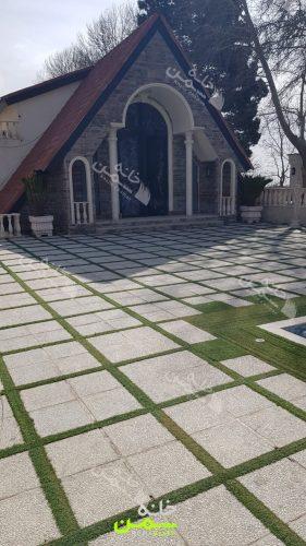 چمن مصنوعی باغ تالار شهریار