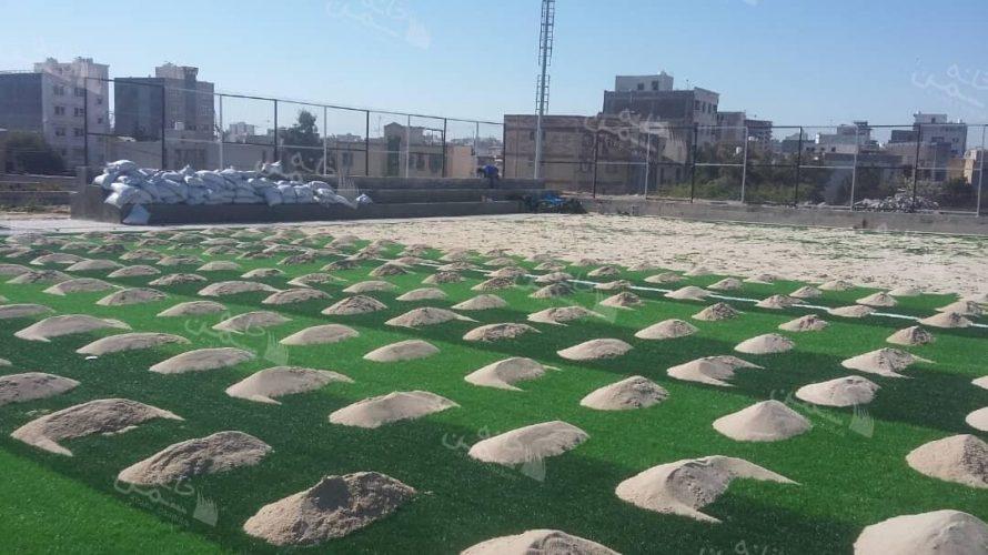 چمن مصنوعی فوتبالی در شهریار