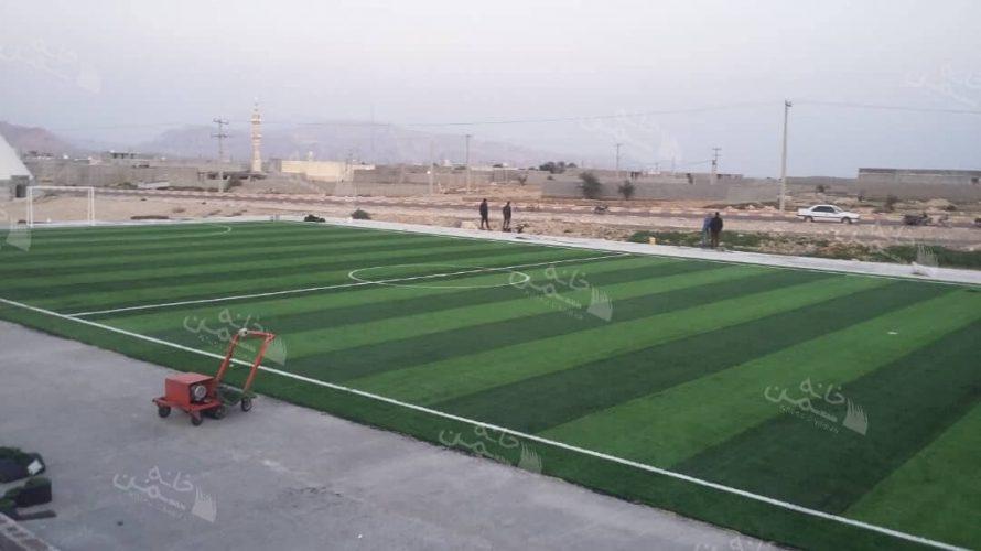 چمن مصنوعی فوتبالی در یزد