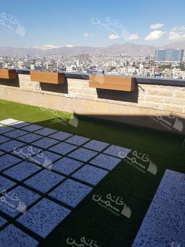 پروژه روف گاردن برج نگین آزادی