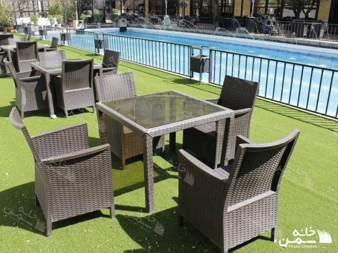 پروژه چمن مصنوعی رستوران هتل استقلال